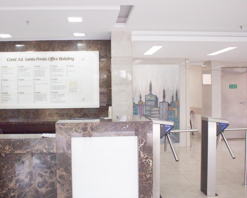 Centro Brasileiro de Urologia | Recepção do prédio
