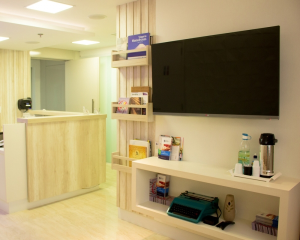 Centro Brasileiro de Urologia | Sala de espera