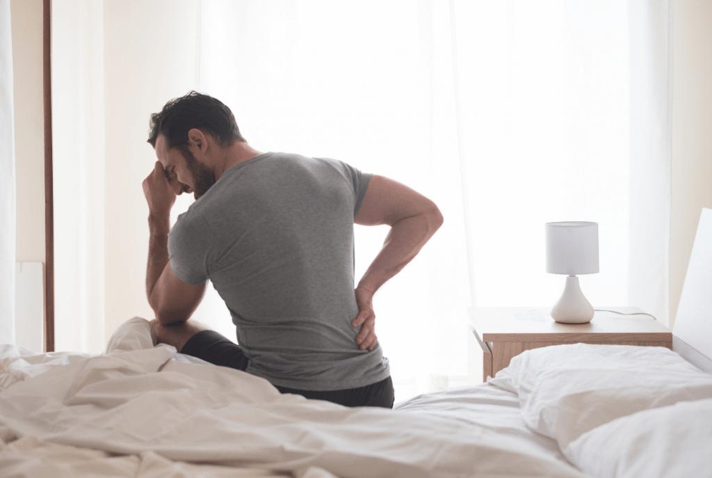 A dor é nos rins ou nas costas?