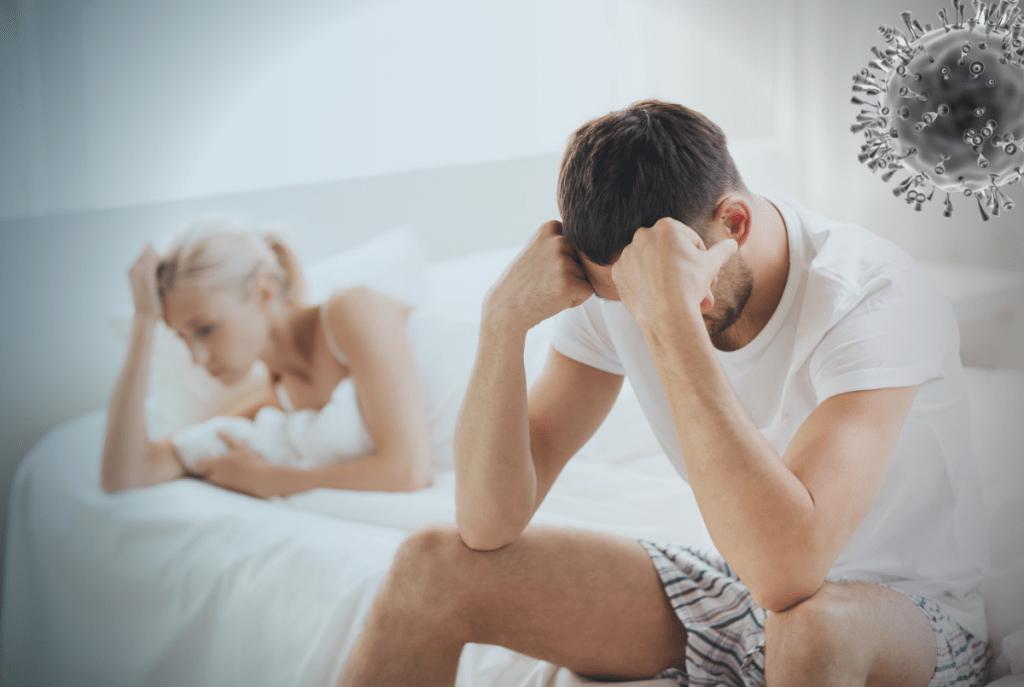 Qual a relação da Covid-19 com impotência sexual?